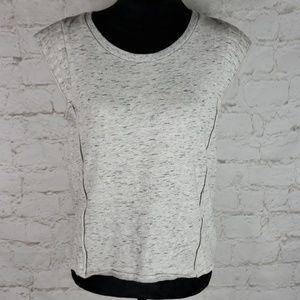 Rebecca Minkoff cap sleeve sweatshirt size Medium